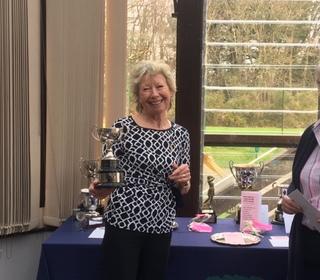 Marion West Winner of the Competition Winners Final, Ann Penn RU, Dec Stableford RU, Nov Medal RU