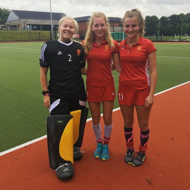 Katie Knight, Kate Axford, Nicole Bowen - Eng U23 development