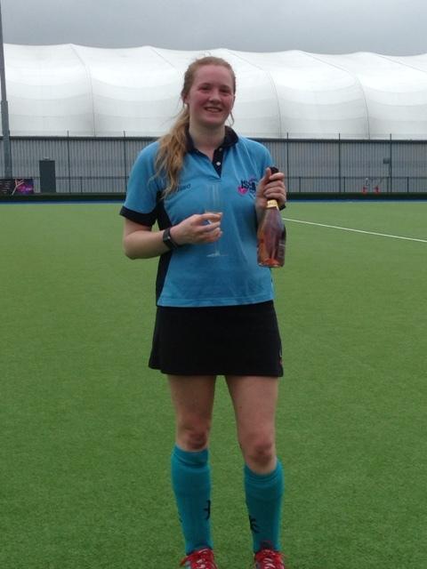 Jo Burrington - 50 goals for Ladies 4s