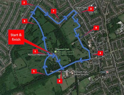 Sutton 10k Course