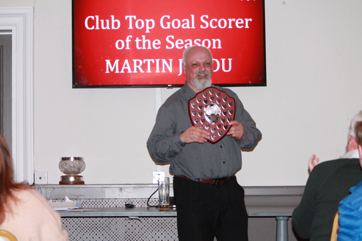 Martin Jandu - Club Top Goal Scorer of the Season