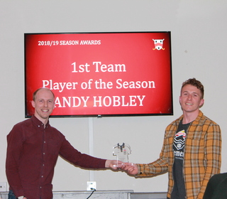 Andy Hobley - Player of the Season