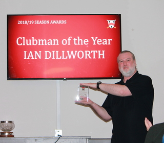Ian Dillworth - Clubman of the Year