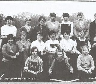 Wick Ladies in 1946