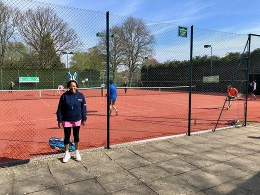 Celia our excellent tournament organiser.