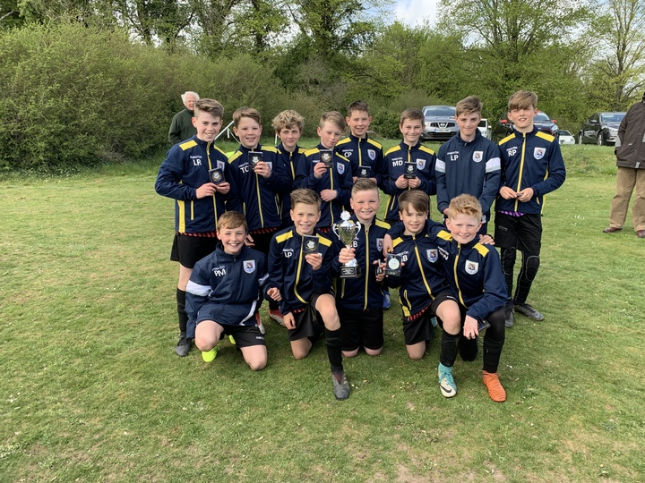 U12 Panthers win the 2018/19 Testway Cup
