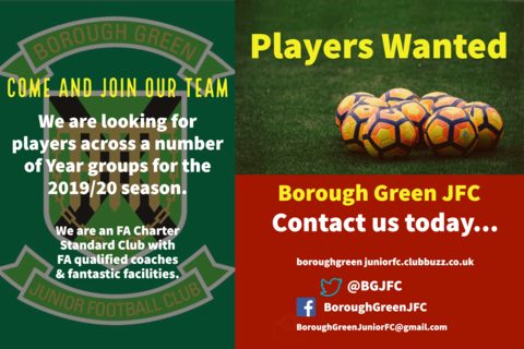 Players Wanted 2019-20