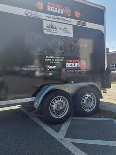 wheelchair basketball trailer