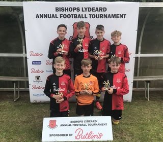 Under 13 Winners: Bishops Lydeard Panthers.