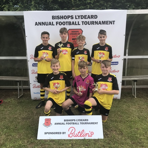 Under 13 Winners: Bishops Lydeard Panthers