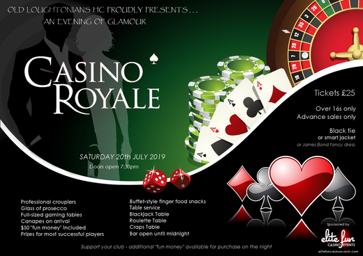 Casino Night 20th July 2019