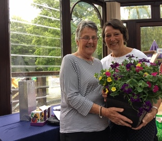 Wendy Mulley winner of best back 9 with 34