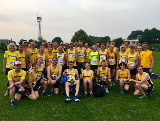 All runners at Imber Court relays