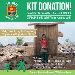 Nepal Kit Donation