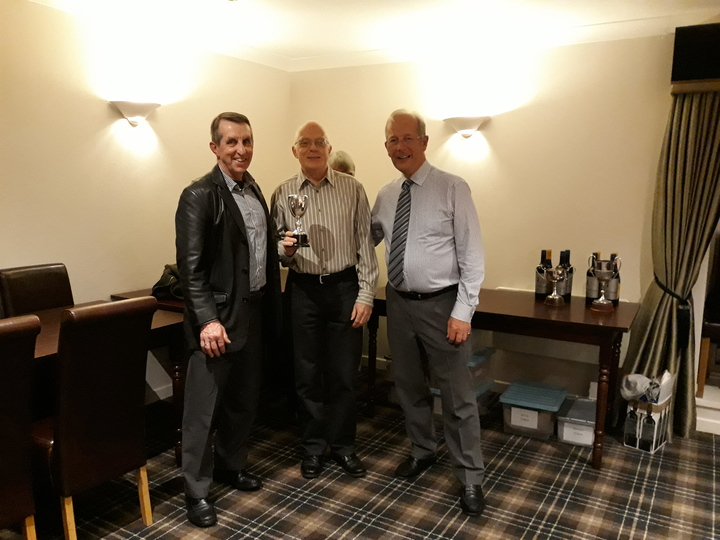 Pairs Winners - Mike Gelatly and Ian Golby