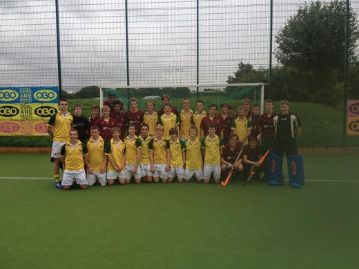 Cannock Boys U18s vs Ashton School, Ireland - 29 Aug 2012