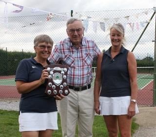 Sheelagh & Erika - Ladies Doubles Winners 2019