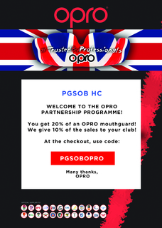 OPRO Mouthguard offer