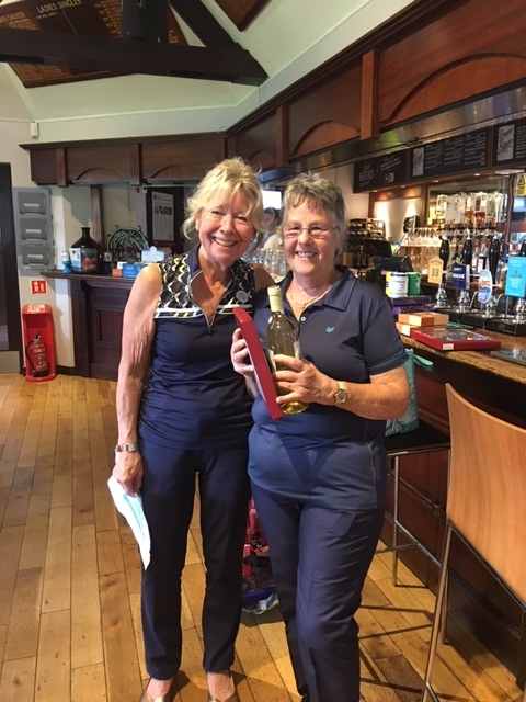 Charity Day 3rd place Lady - Sue Jelley