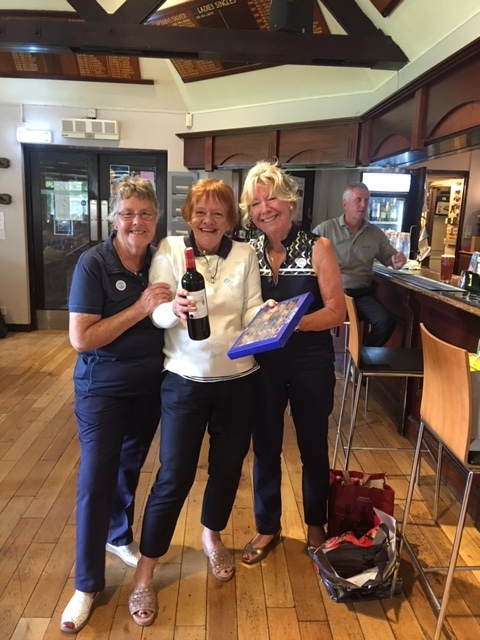 Charity Day 2nd place lady - Patricia Sewell