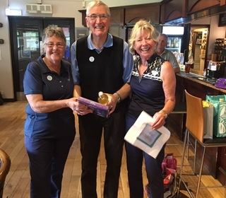Charity Day 2019 1st place Roger Jones