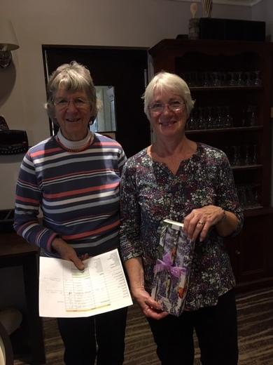 Valerie Wright won Best Cat 5 at Autumn Meeting 2019