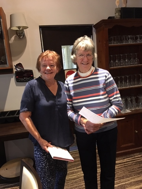 Patricia Sewell won Longest Drive at Autumn Meeting 2019