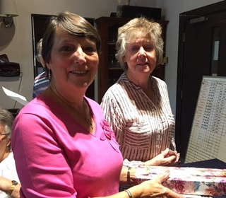 Wendy Mulley won Best back 9 and Nearest Pin at Autumn Meeting 2019