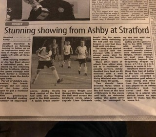 STUNNING SHOW FROM ASHBY AT STRATFORD