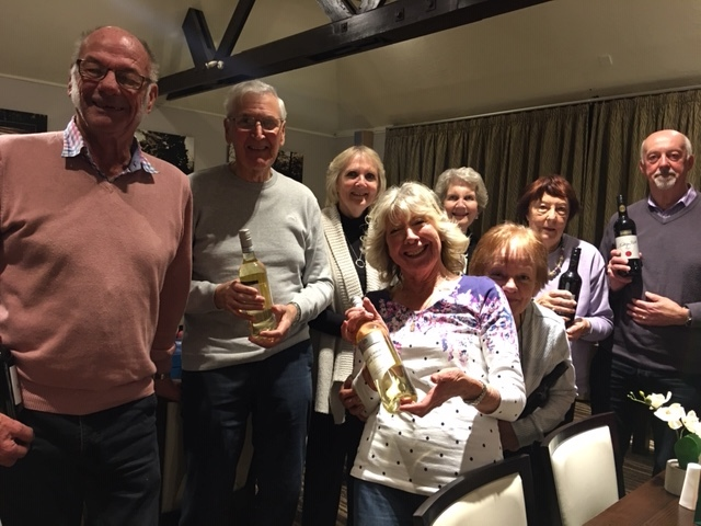 Quiz Night 2nd place - Patricia Sewells team