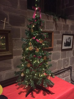 St Michaels Christmas Tree Festival Penkridge