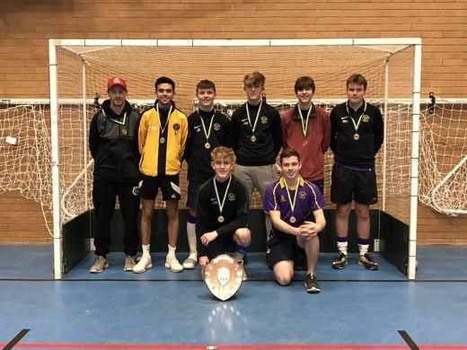 Under 18 Boys East Indoor Champions 2019