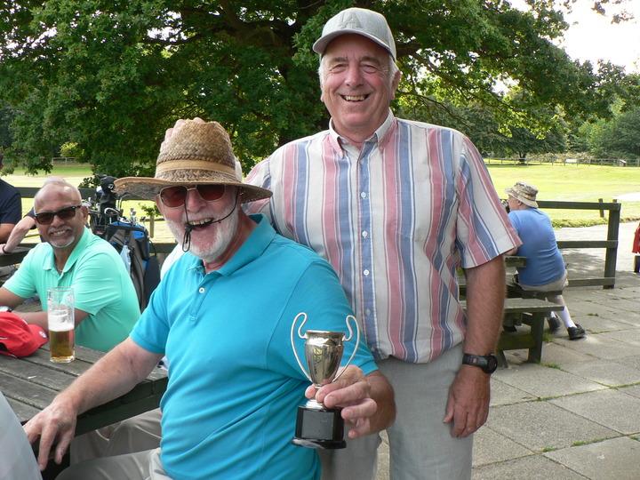Cowboy cup winner Ron Sullivan