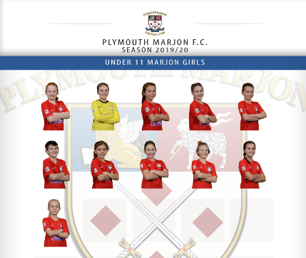 Plymouth Marjon U12 Girls