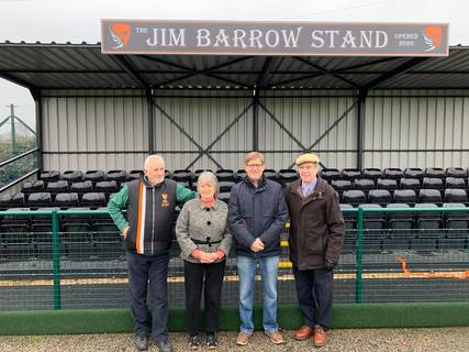 Stand opening, 25th January 2020