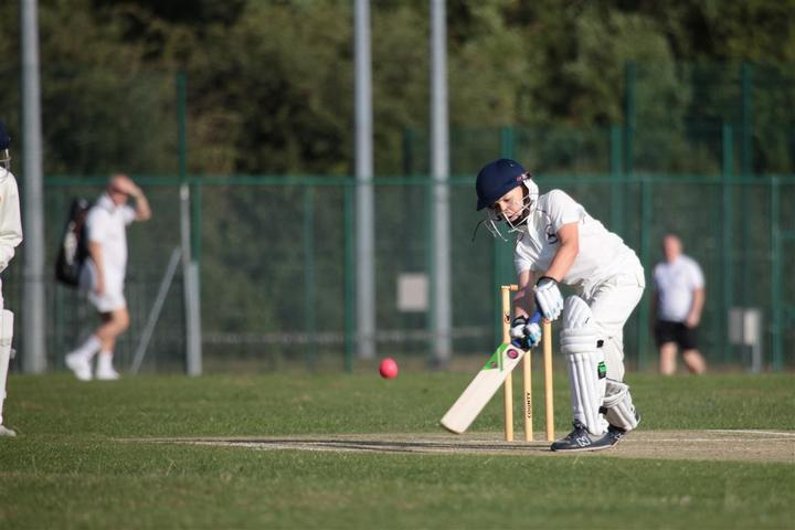 Full kit on during a hard ball game at HDCC
