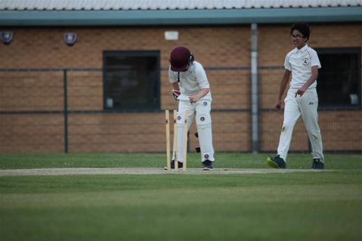 Opposing side sorting out the wickets, always a smile when we take a wicket.