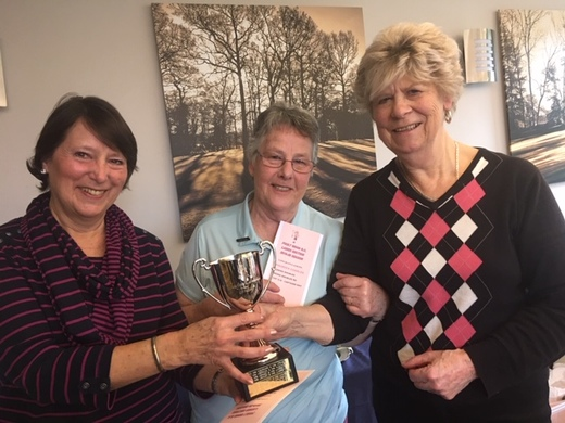 Ladies Doubles Winners Wendy Mulley and Maureen Charles 2020.