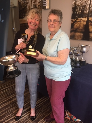 Marion West won Frances Bourne and Ann Penn Eclectic and the Foster Cup