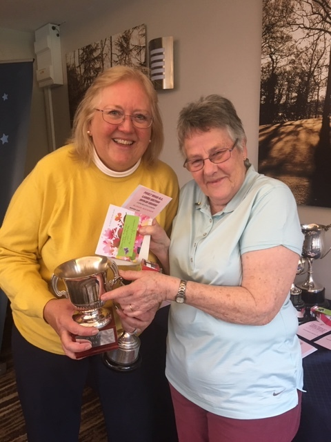 Alison  Wickham won EGU Brooch,Rover Cup,Mixed Doubles and Ladies Doubles R/U with Jean Bailey