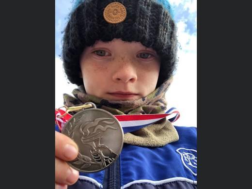 Moray Schools Cross Country 2020 - Lucas Burnett