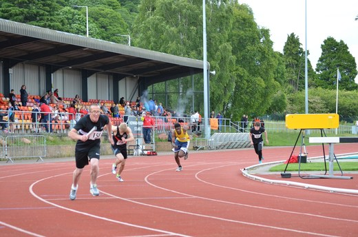 Grampian League 2019, Inverness  - 4 x 200m - David Grant 1st leg