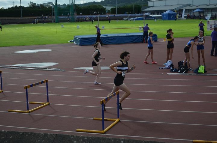 National Championships Grangemouth 2019 - U20 400m Hurdles - Mairi Weir
