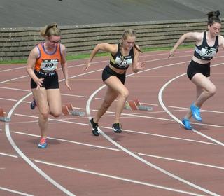 National Championships Grangemouth 2019 - U15 100m - Chloe Storey