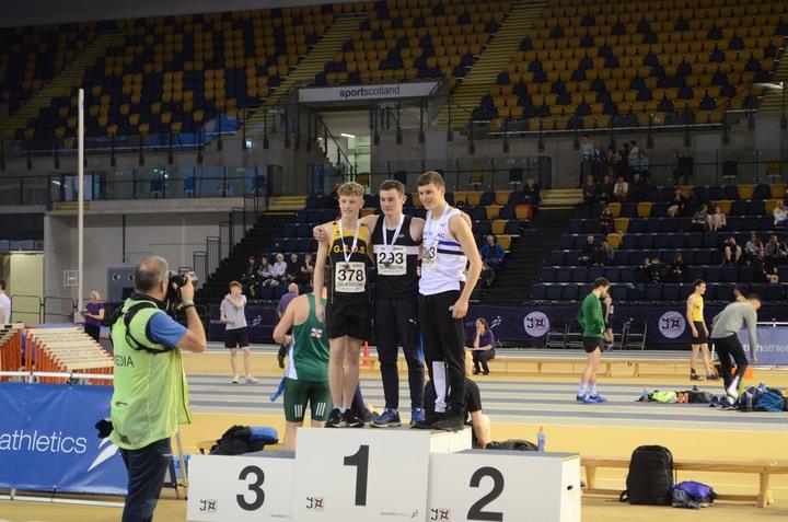 Scottish National Indoor Championships - U17 Long Jump - Kyle Wilkinson - Gold