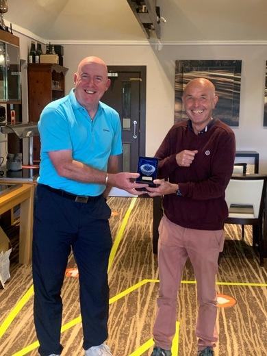 Mick Curran - Winner Best Nett