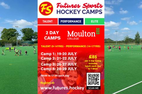 Moulton Futures Flyer July 2021 Camps