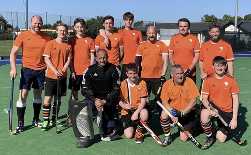Mens 4s win Timperley Tournament