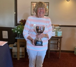 Best Gross with 88 Heather Day wins Thelma's Trophy also longest drive lower handicaps