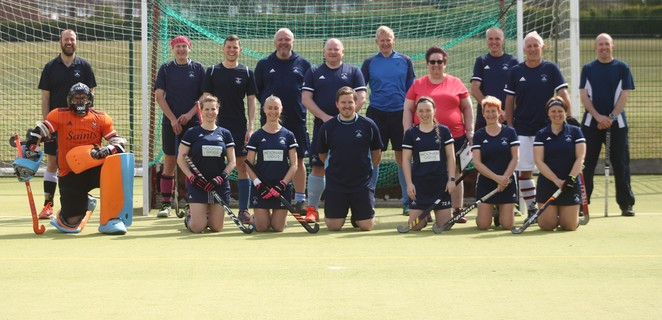 St Neots Committee and Coaches 100-Minute Match Team 2021